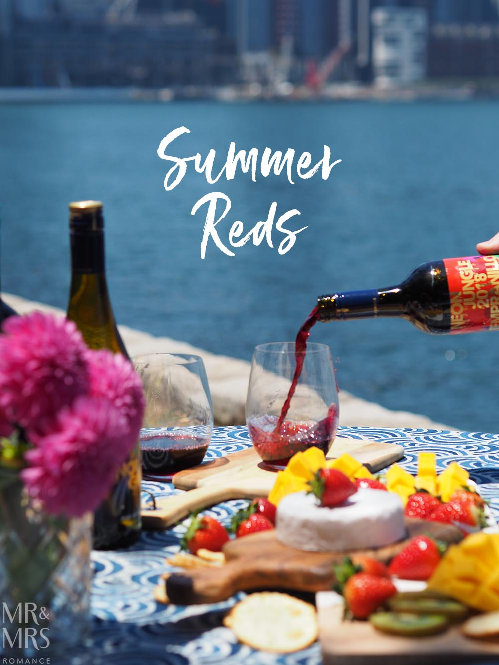 Summer party wines - red selection