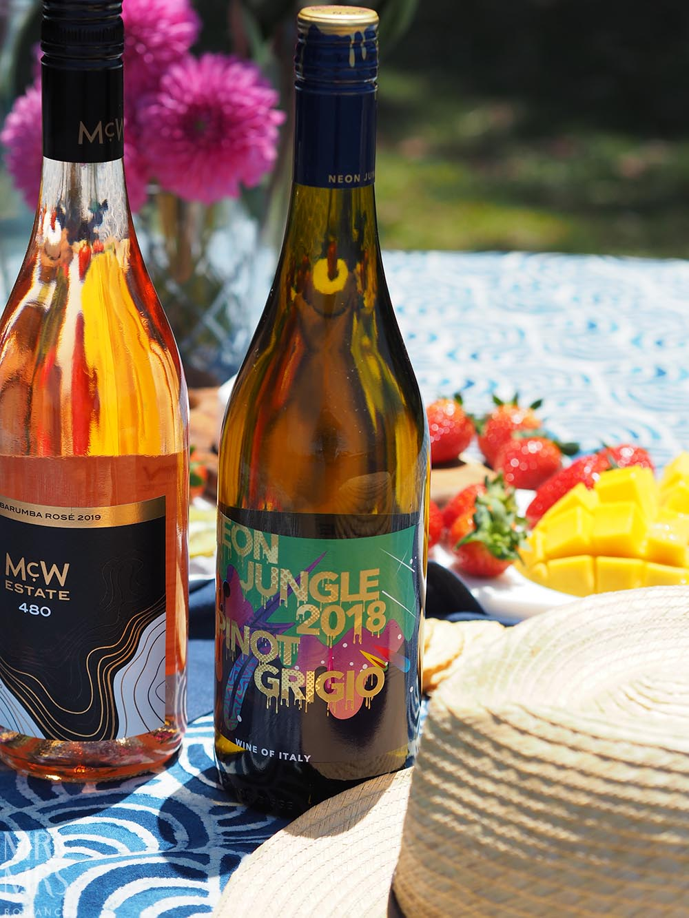 Summer party wines - Neon Jungle Pinot Grigio