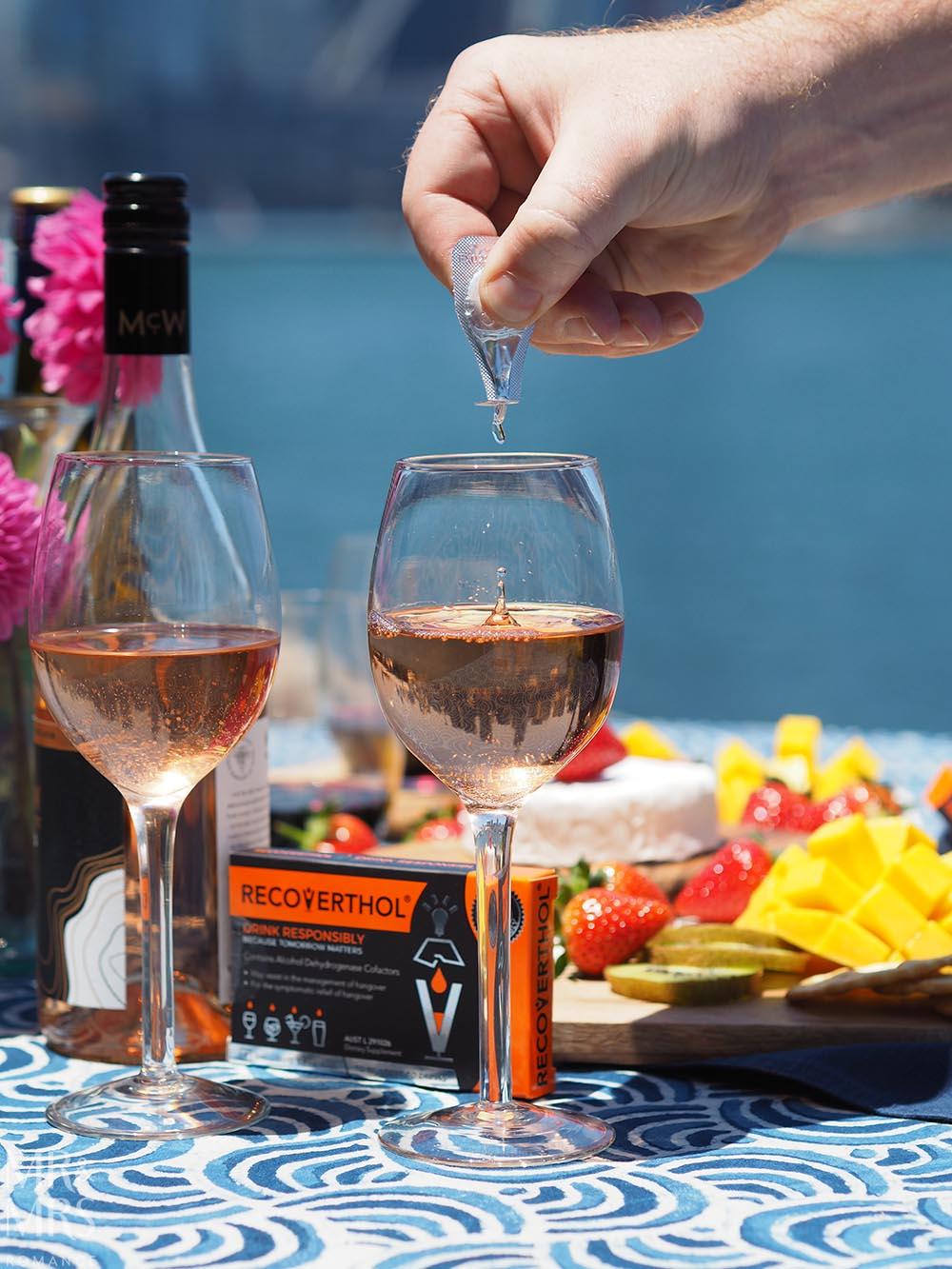 Summer party wines - Recoverthol