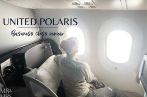 What's business class like with United Polaris?