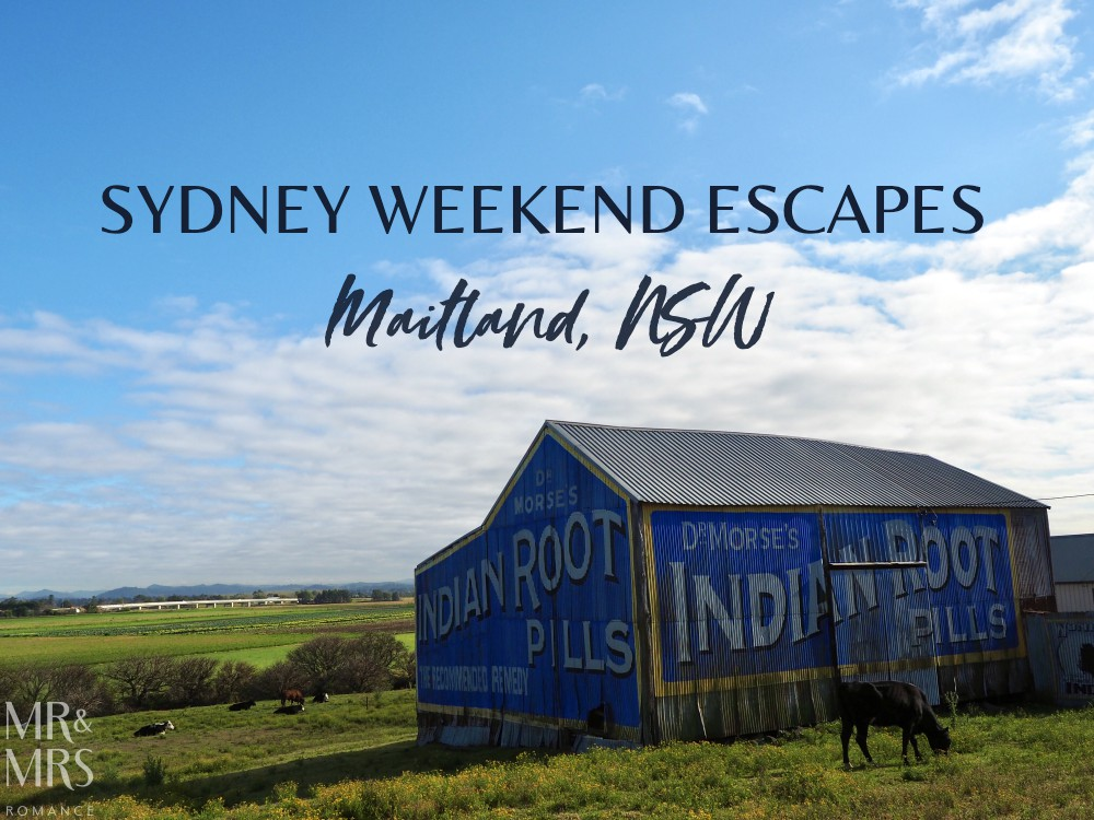 Weekend escape Maitland