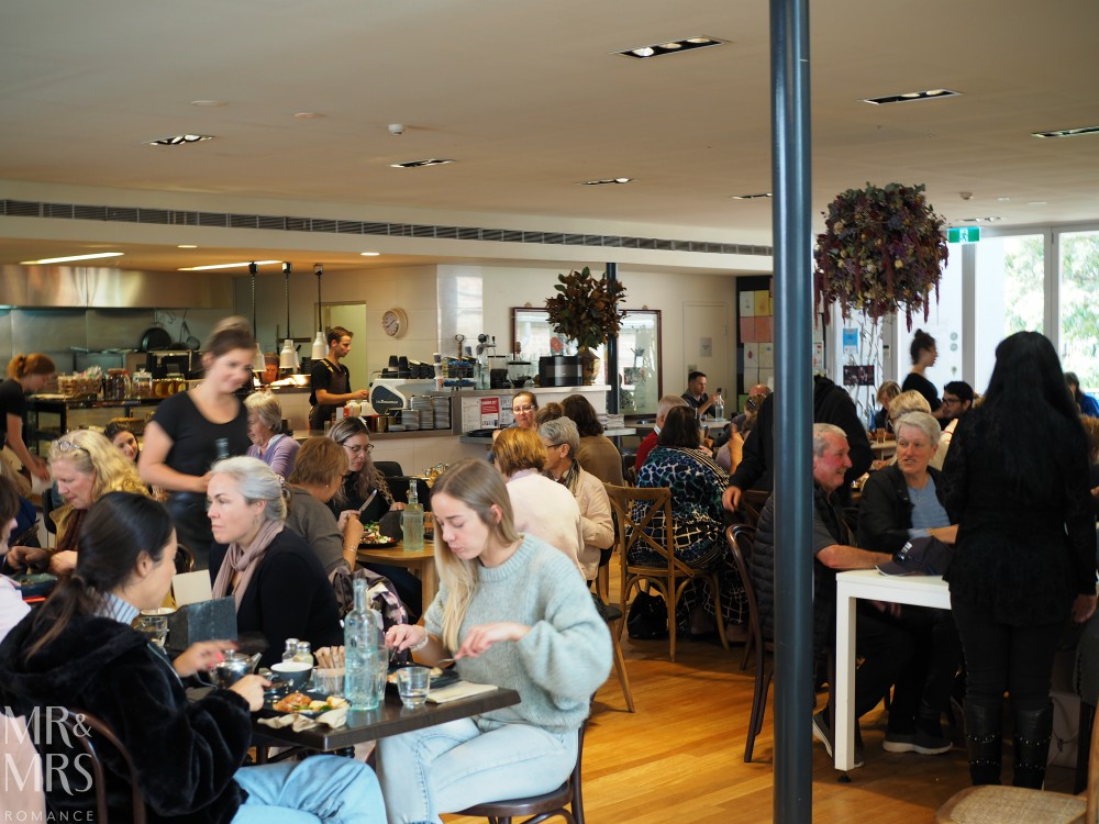 Weekend escape Maitland - Seraphine Cafe at MRAG