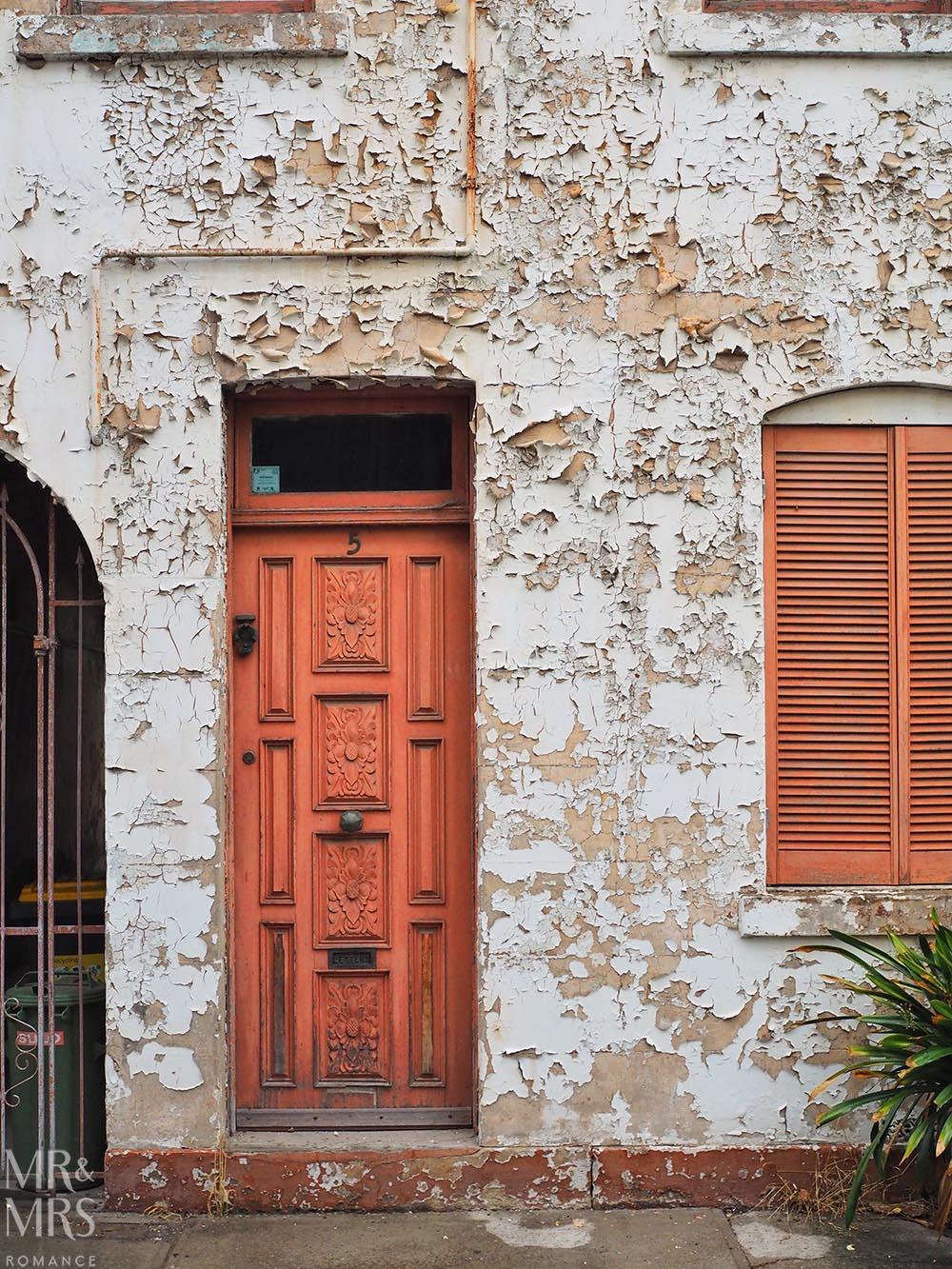 Chippendale door