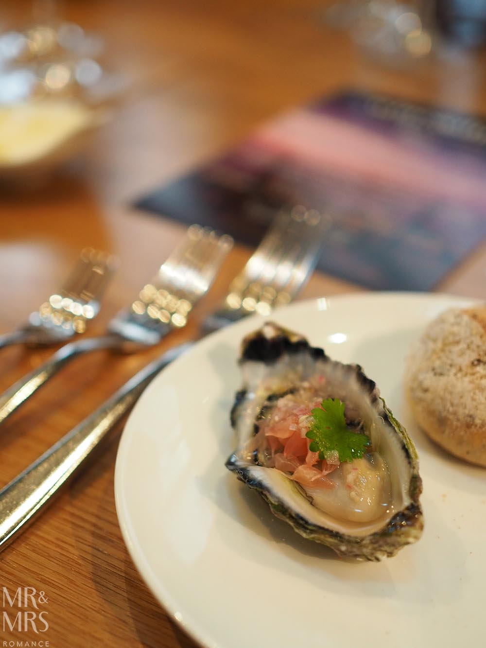 Four Points Chippendale Wine&Dine oysters