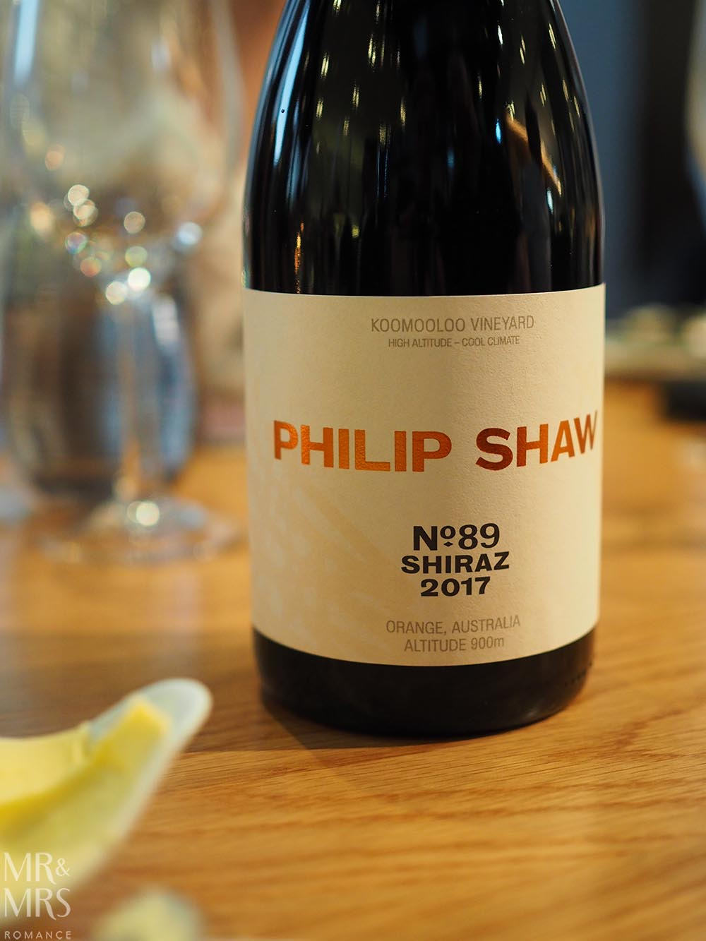 Phillip Shaw No.89 Shiraz at Four Points Chippendale Wine&Dine