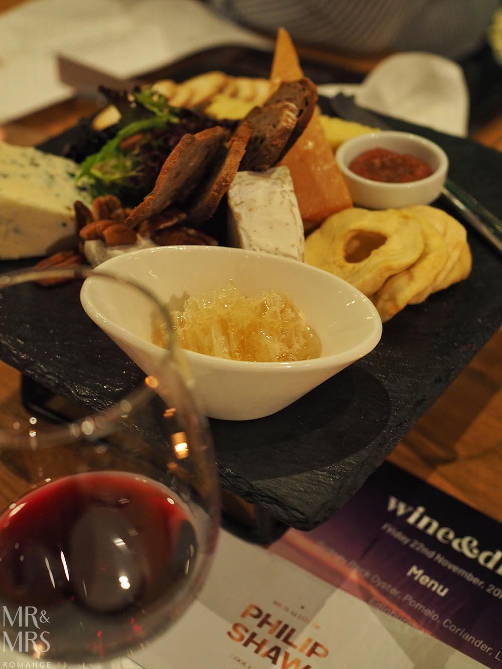 Four Points Chippendale Wine&Dine cheese