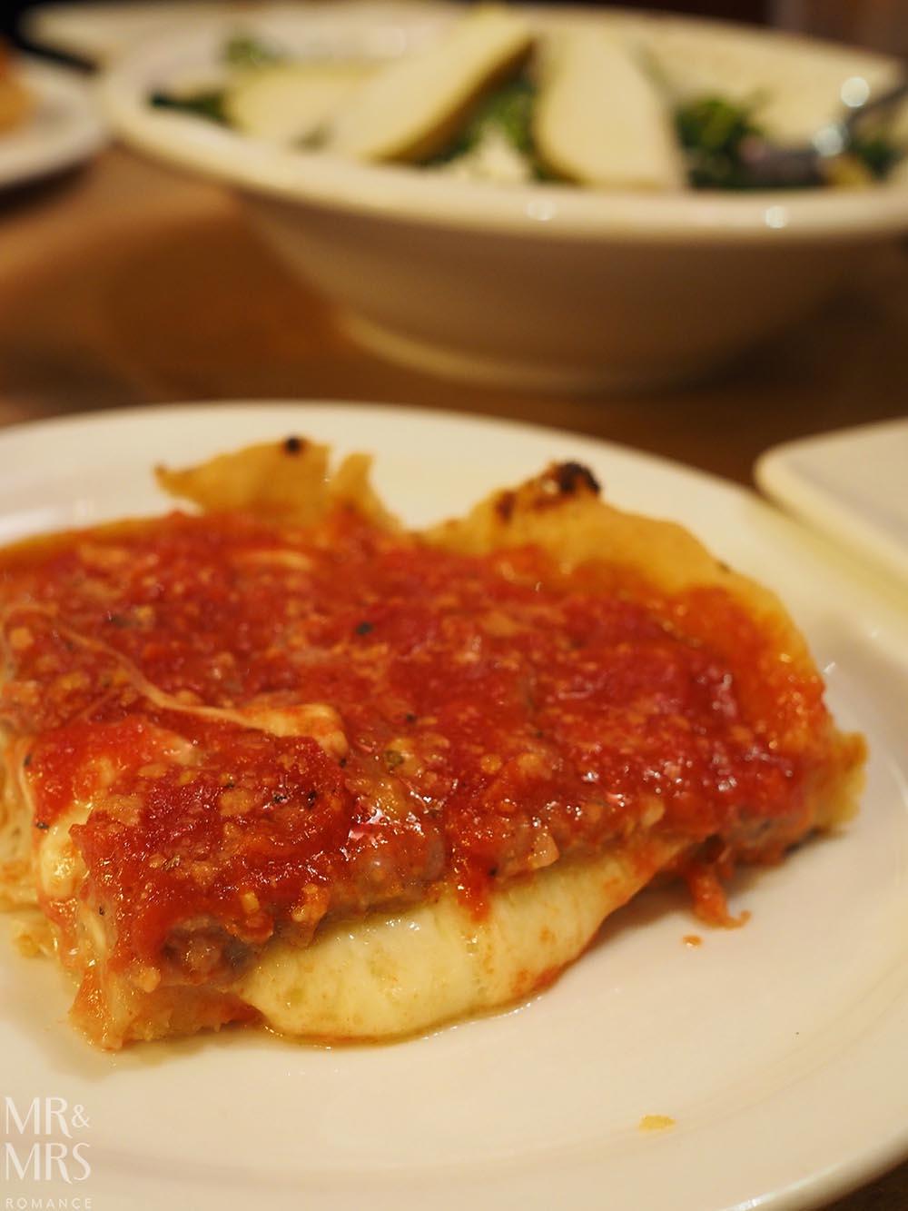 Lou Malnuti's Deepdish Pizza, Chicago, IL
