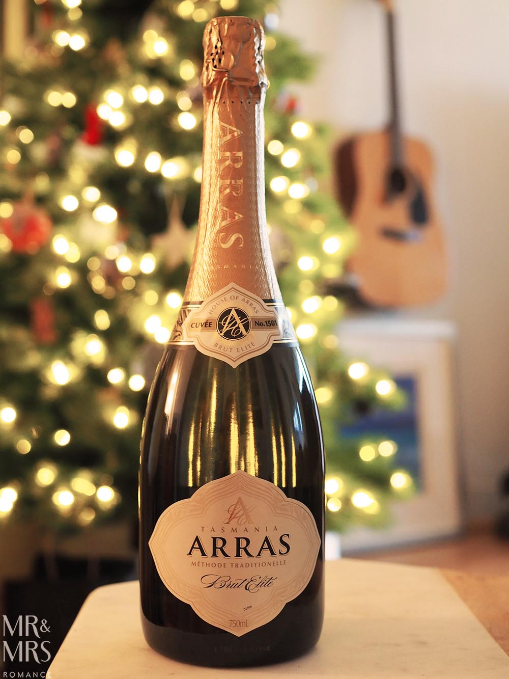 Australian sparkling for Christmas - Arras Brut Elite Cuvée 1501