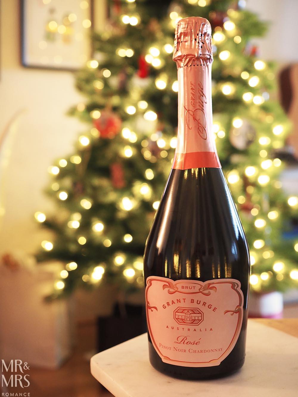 Australian sparkling for Christmas - Grant Burge NV Sparkling Pinot Noir Chardonnay Rosé