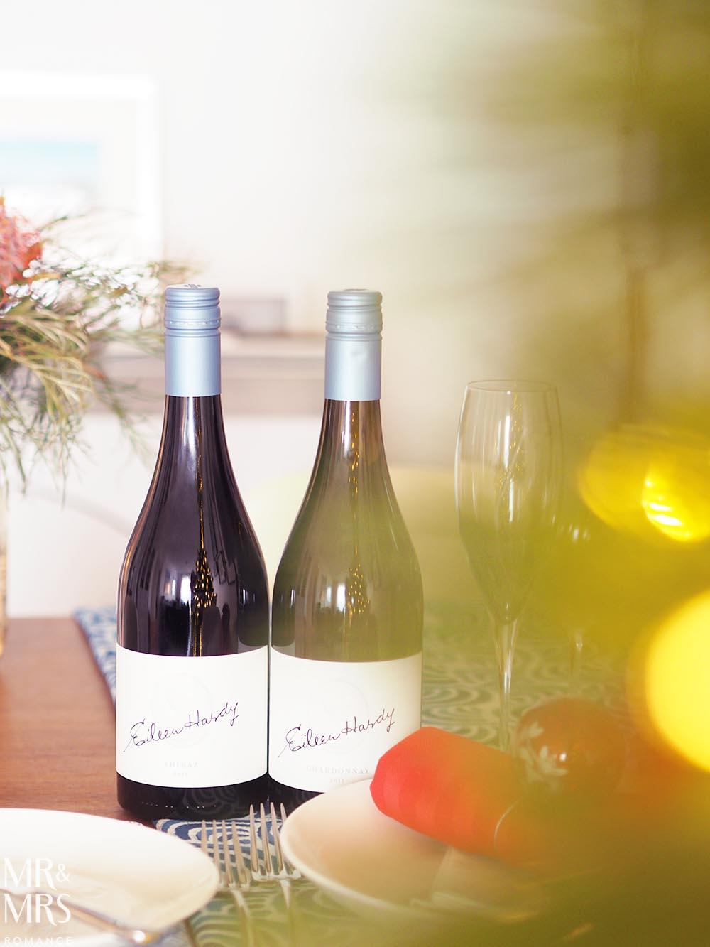 Christmas drinks list - Hardy's Eileen Hardy Chardonnay Hardy's Eileen Hardy Shiraz