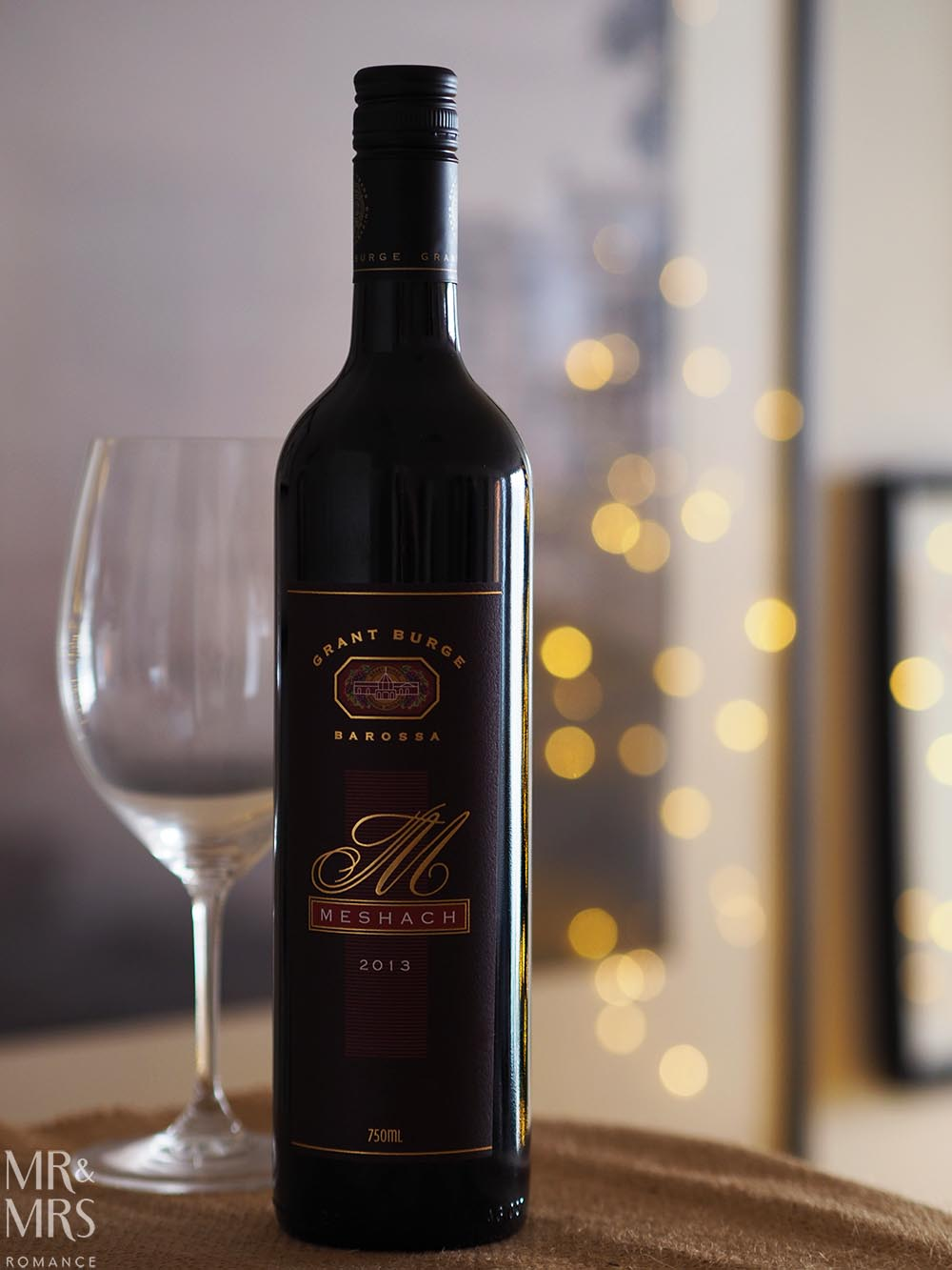Christmas drinks list - Grant Burge Meshach Shiraz