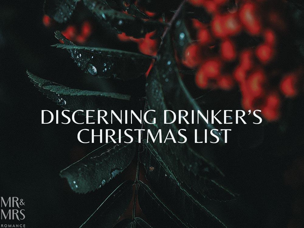 Christmas drinks list
