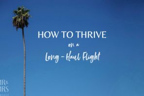 How to thrive – not just survive – on a long-haul flight