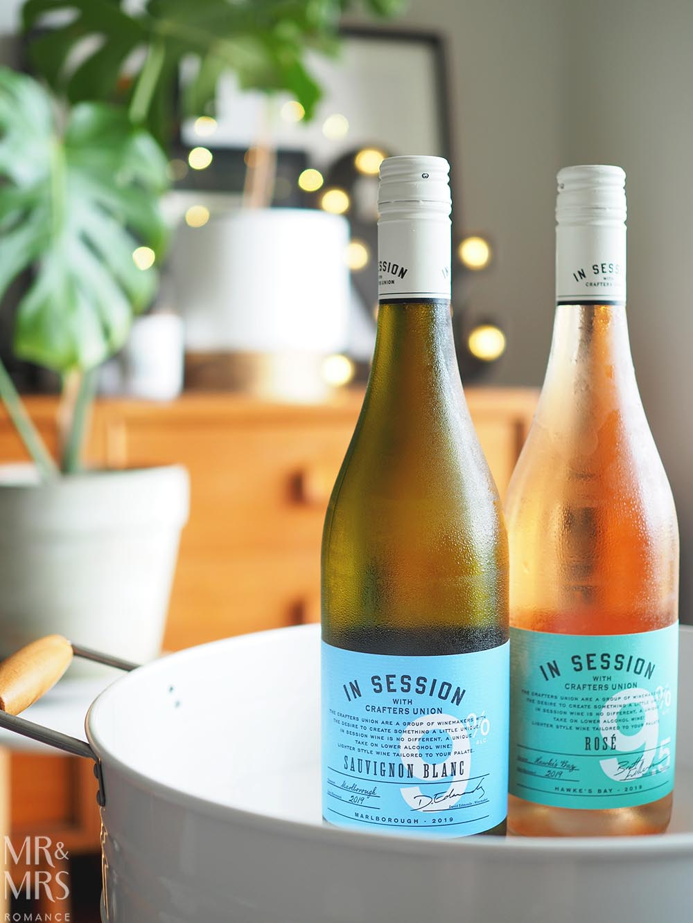 Crafters Union In Session light wines - Sauvignon Blanc and Rosé
