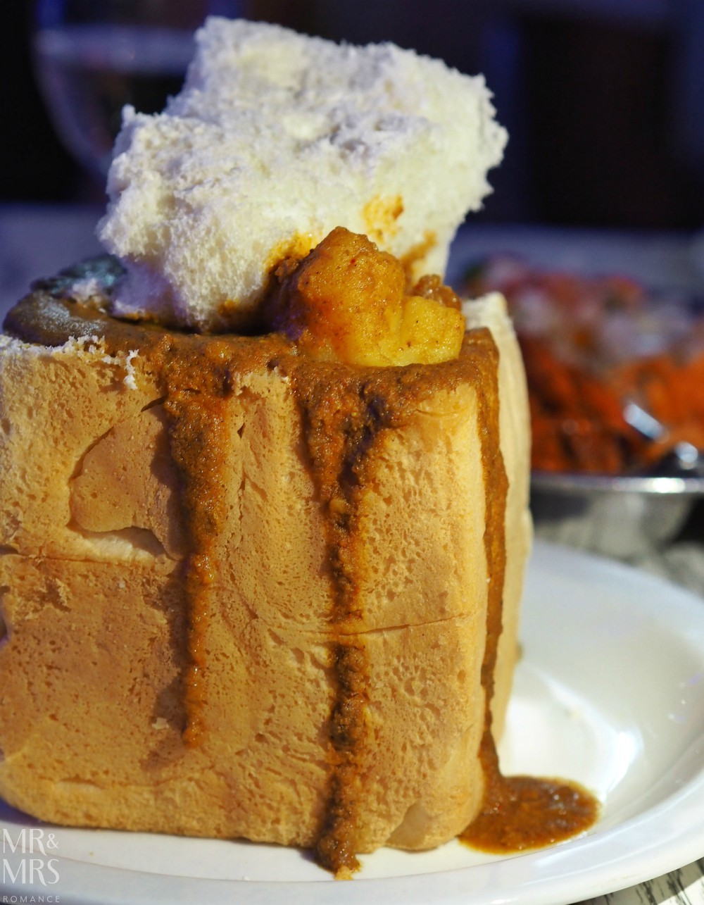 Visit South Africa - bunny chow, Durban
