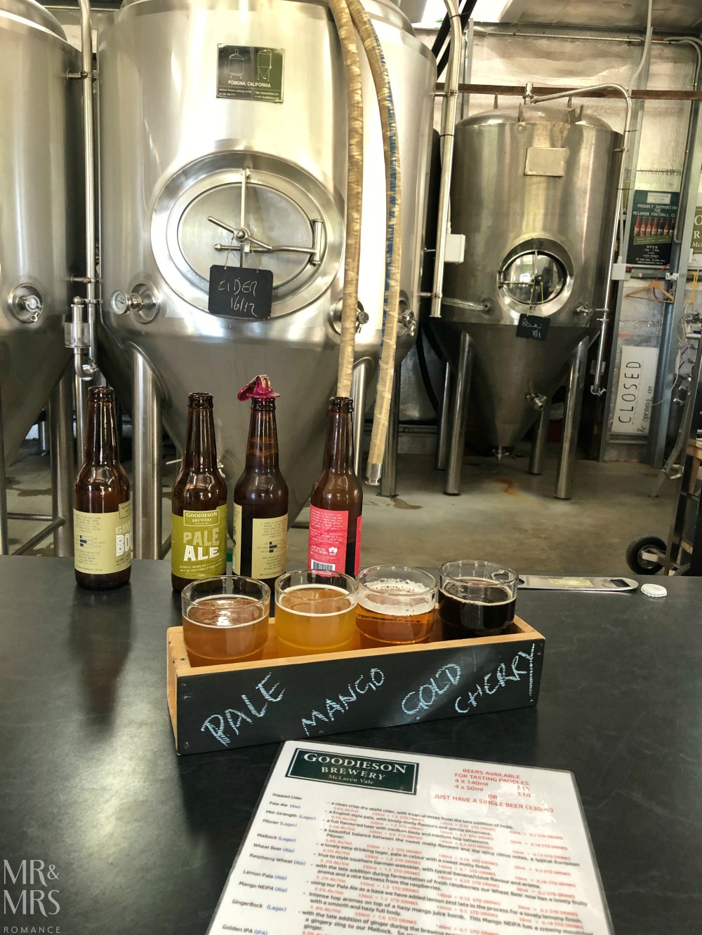 Goodieson Brewery, McLaren Vale, Adelaide