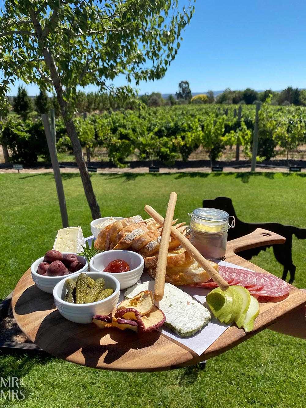 Platter at Artwine Winery, Adelaide Hills, Adelaide