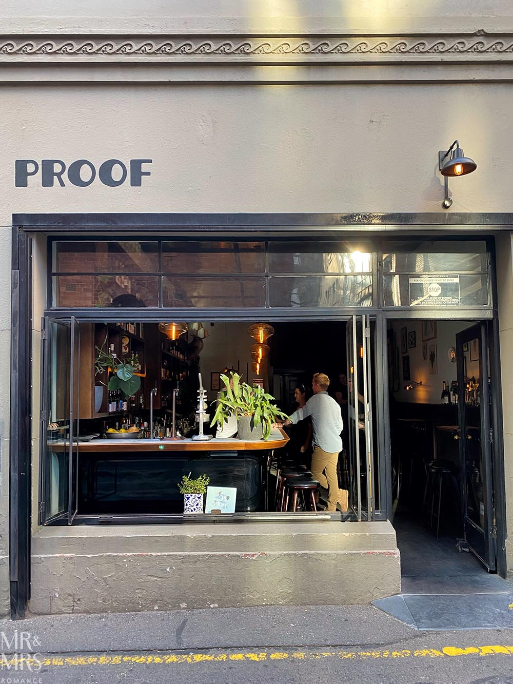 Proof cocktail bar, Adelaide