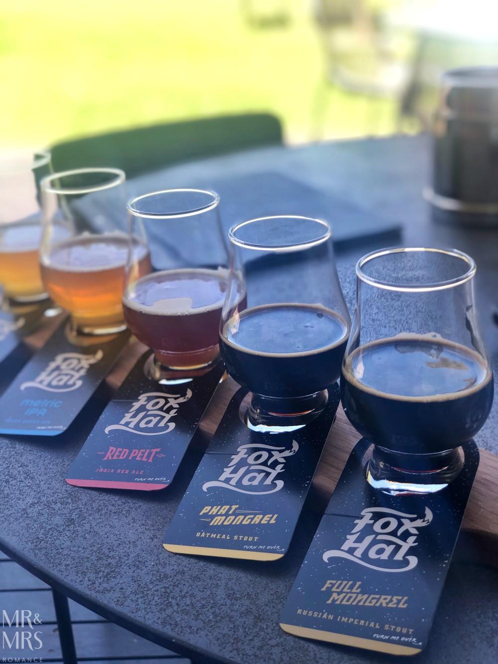 Fox Hat beer tasting Beresford, McLaren Vale, Adelaide