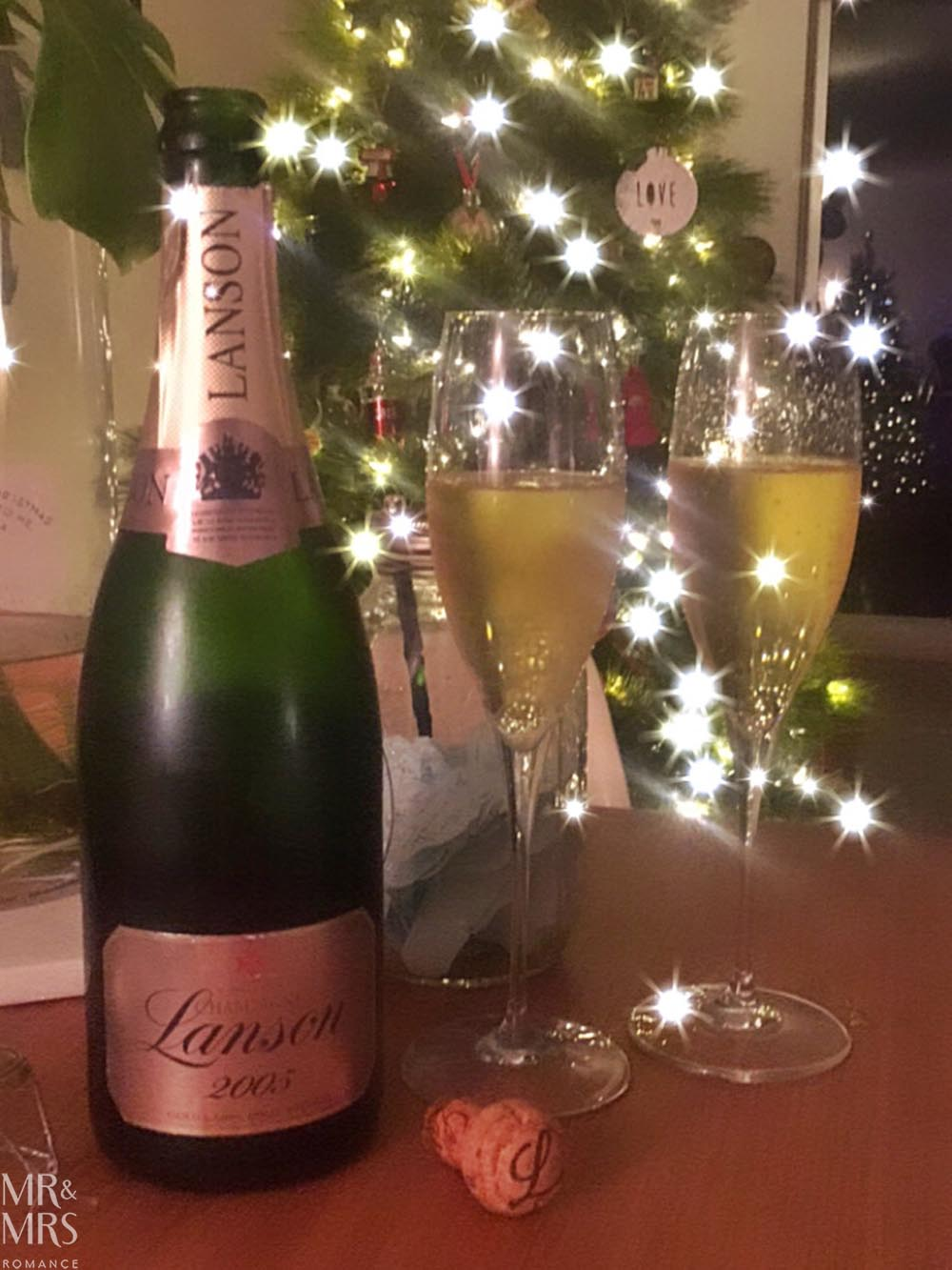 Lanson Champagne NYE