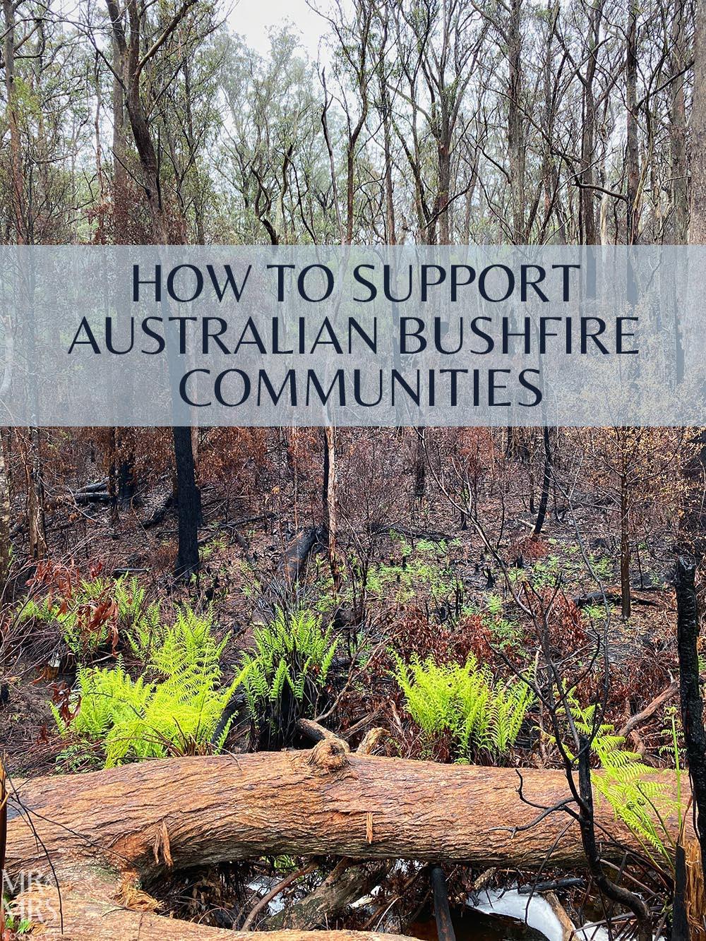 #EmptyEsky supporting Australian bushfire regions