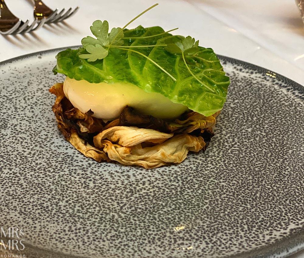 Burrata - Dinner of Flavours at Sylvester's Marriott Sydney Habour