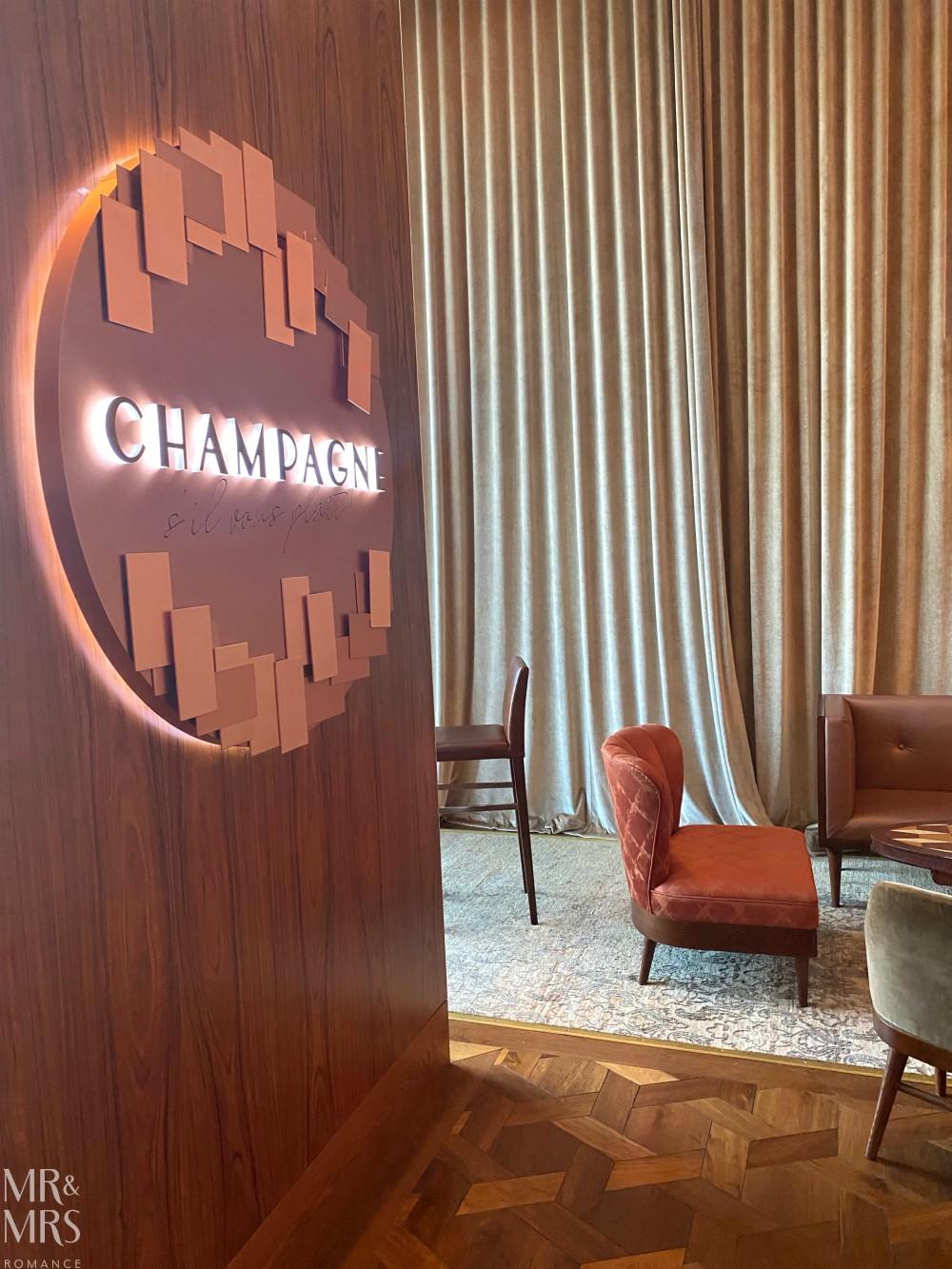 TravMedia Summit Sofitel Darling Harbour Champagne Bar
