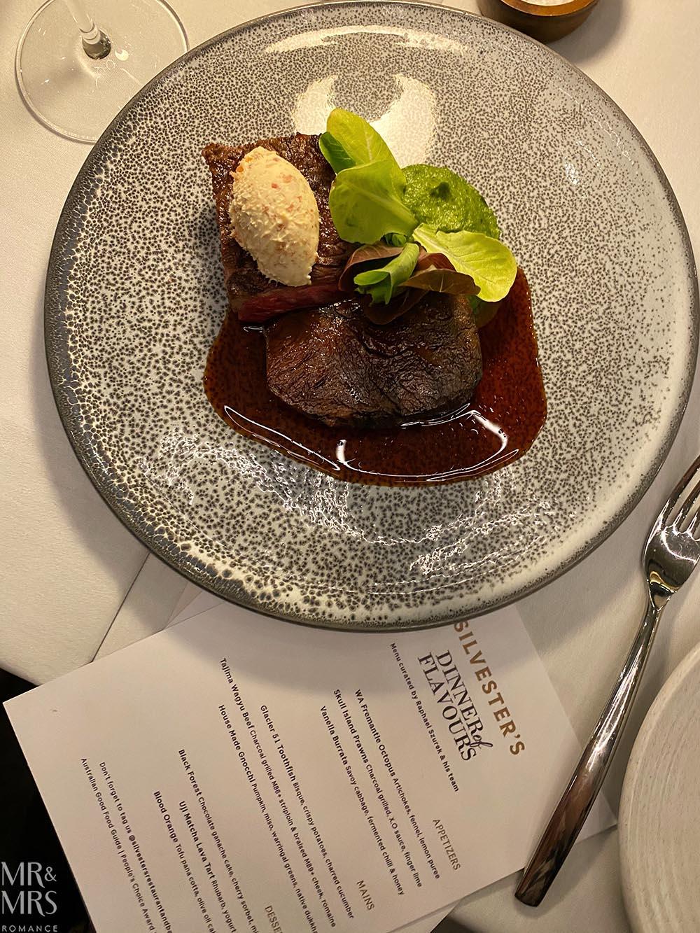 Steaks - Dinner of Flavours, Sylvester's Sydney Harbour