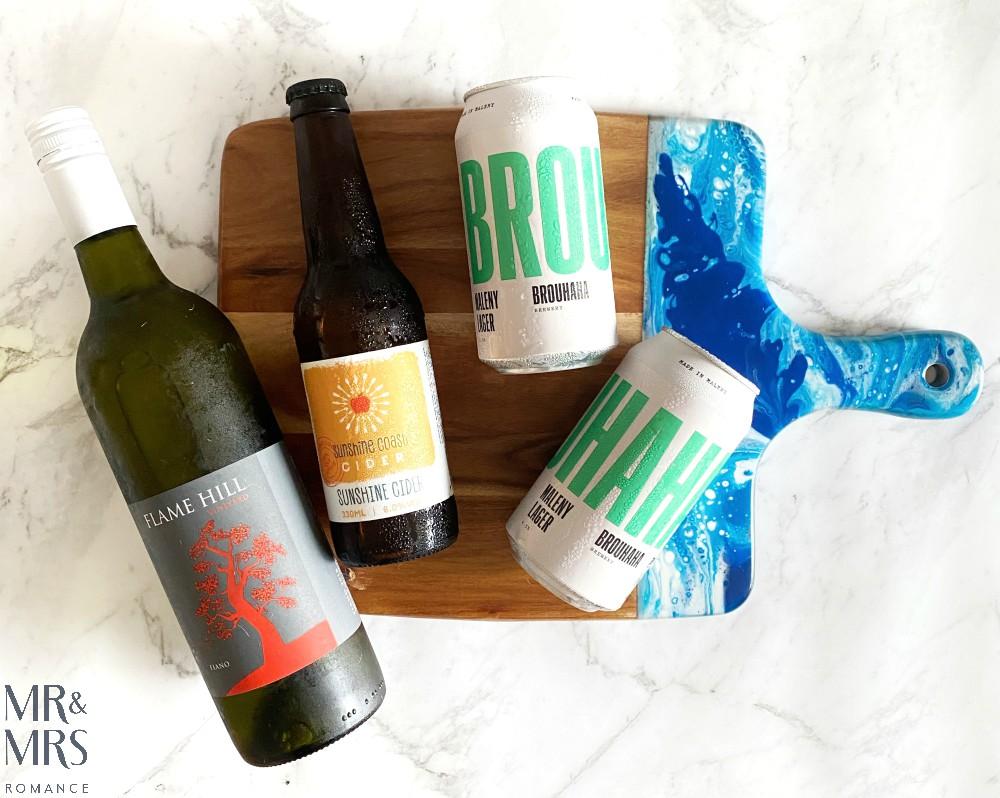 Sunshine Coast booze - Brouhaha Brewery, Sunshine Coast cider, Flame Hill Fiano