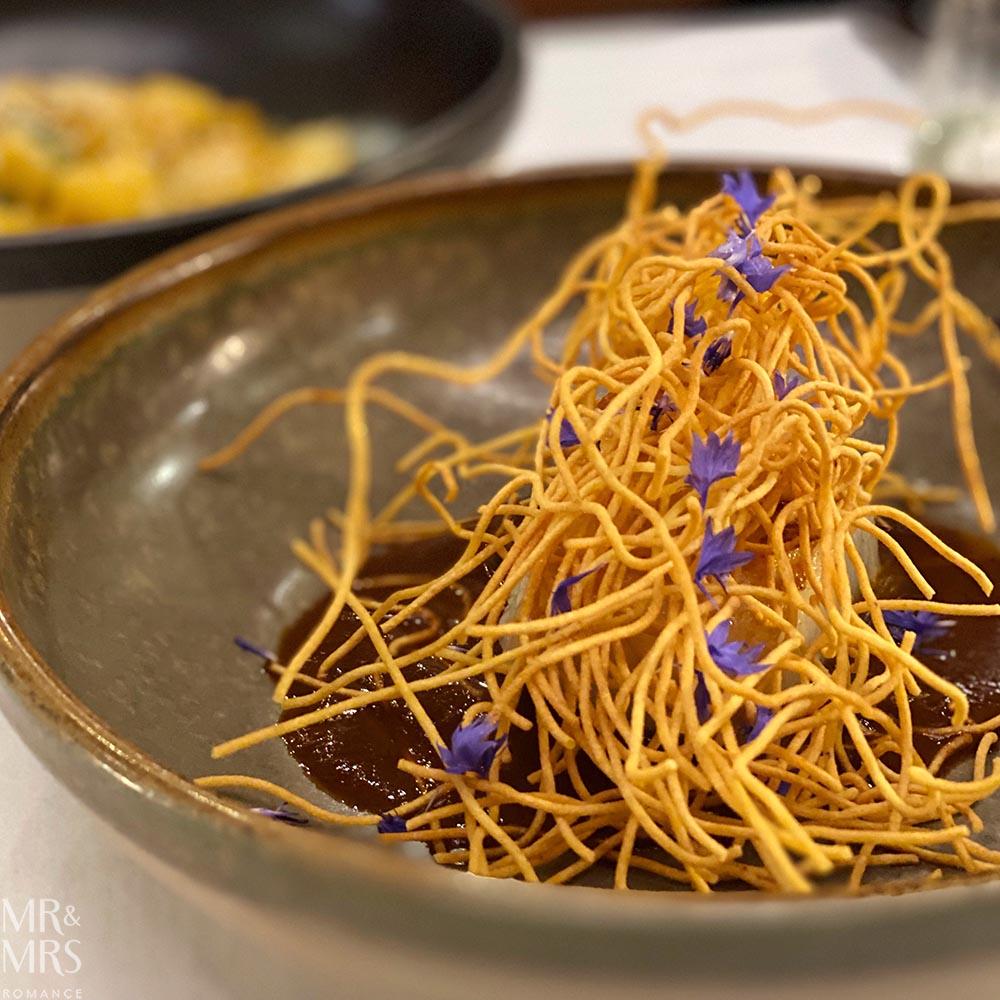 Toothfish - Dinner of Flavours Sylvester's Marriott Sydney Harbour