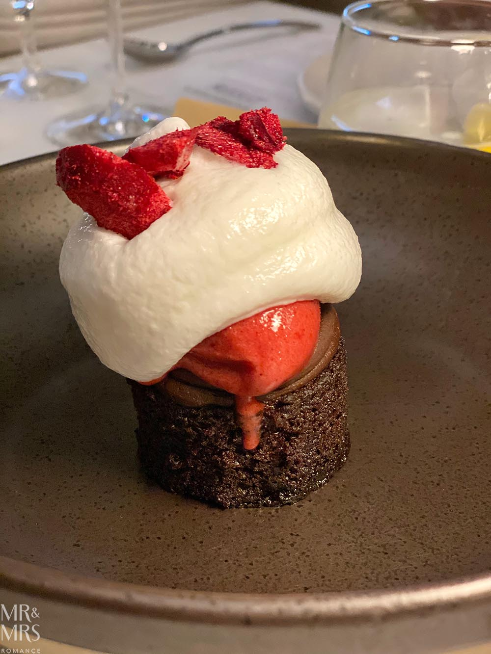 Black forest dessert - Dinner of Flavours, Sylvester's Marriott Sydney Harbour