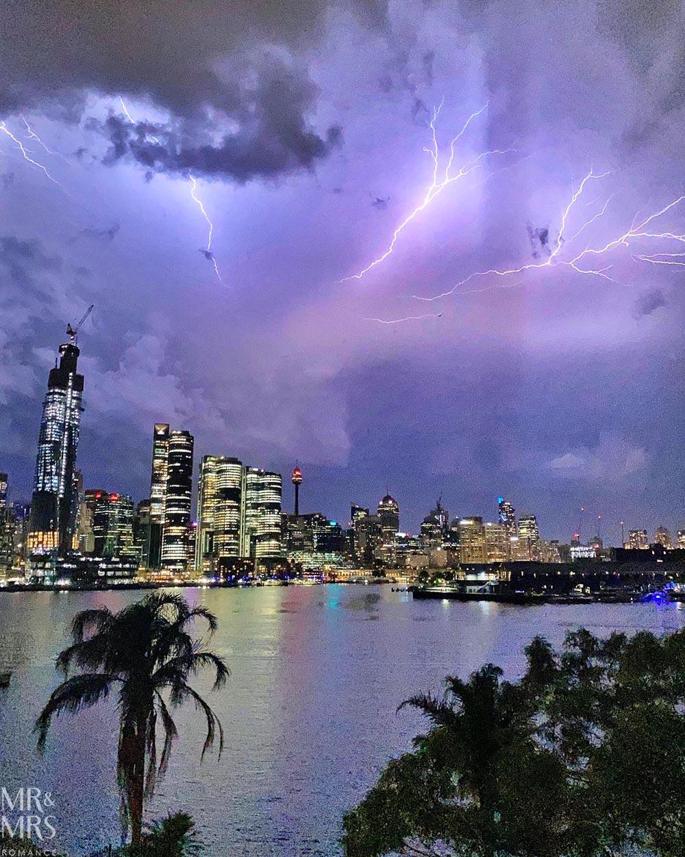 Sydney storm!