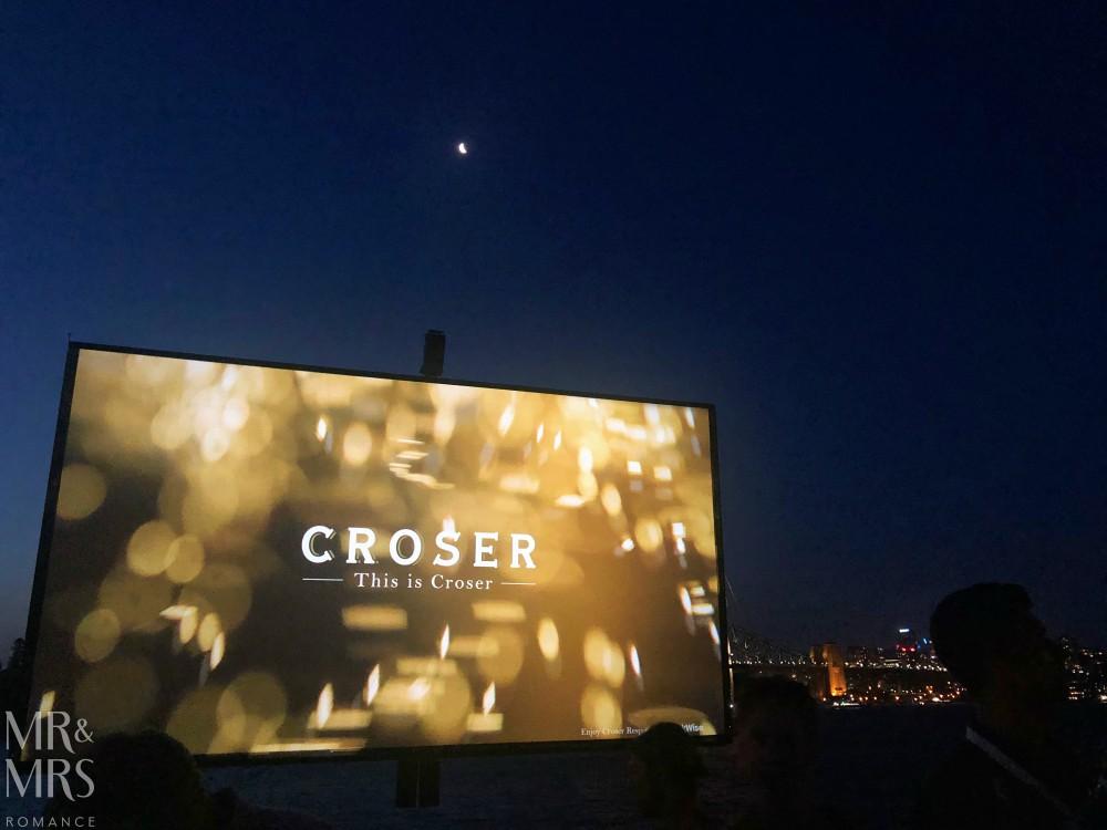 Croser and Open Air Cinema