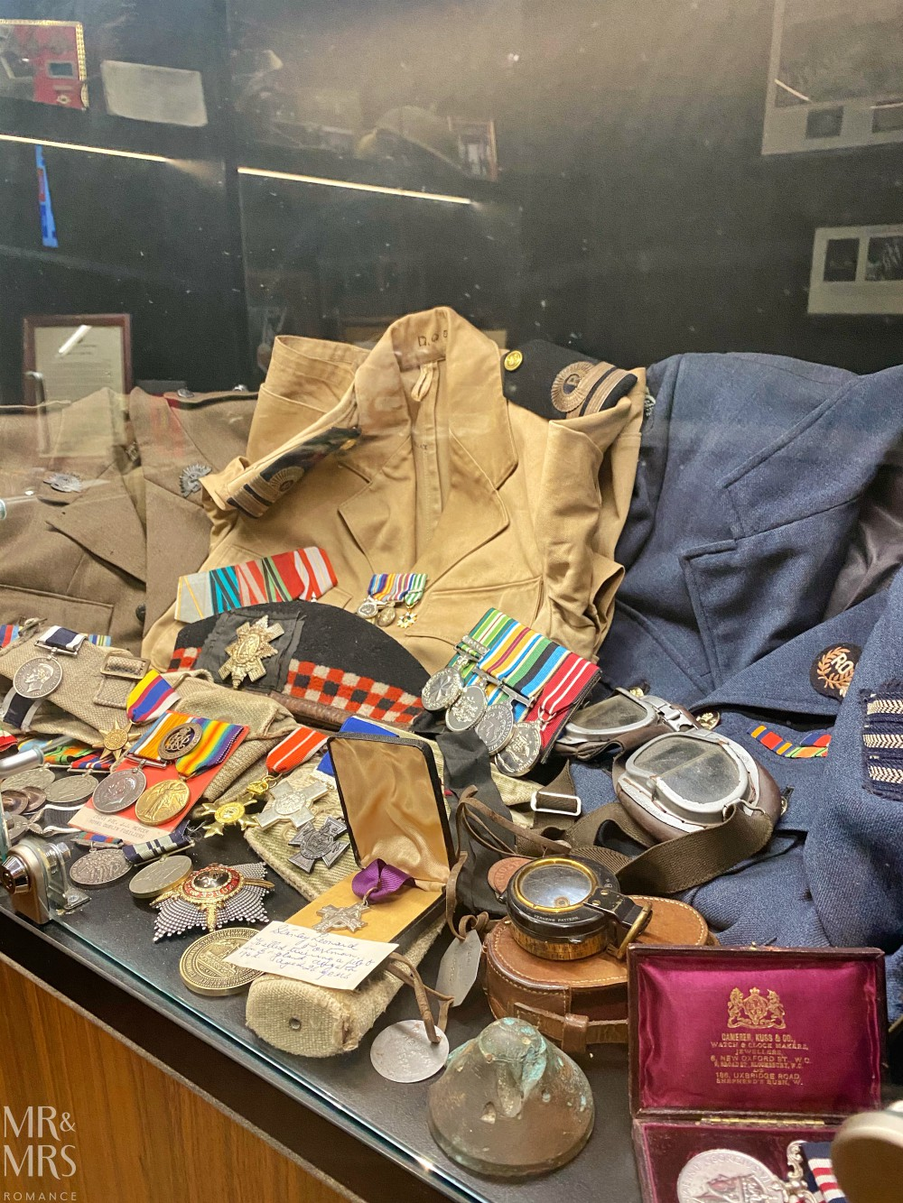 Kogarah Clubhouse - war memorabilia - Allied Forces