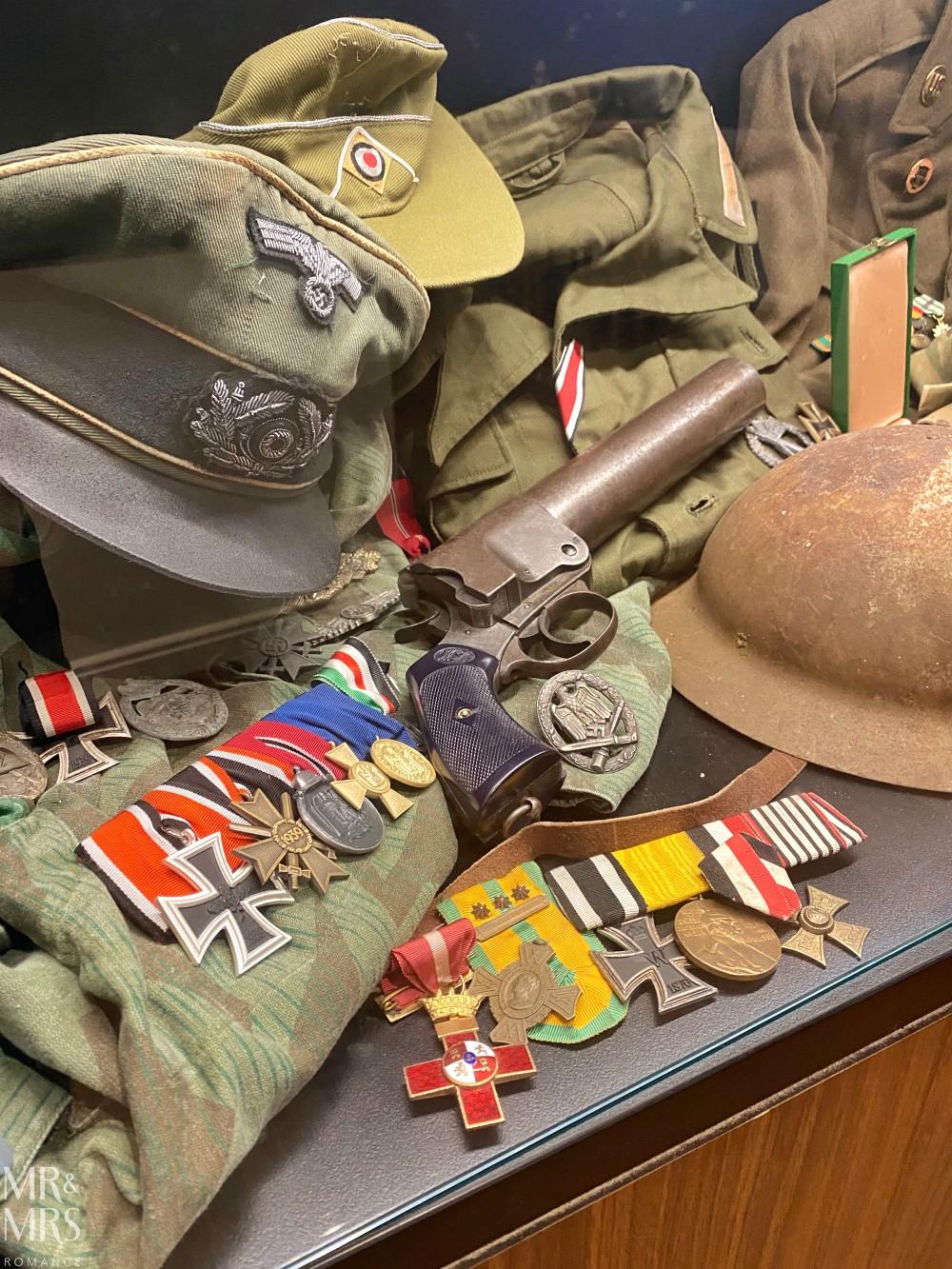 Kogarah Clubhouse - war memorabilia Axis Forces