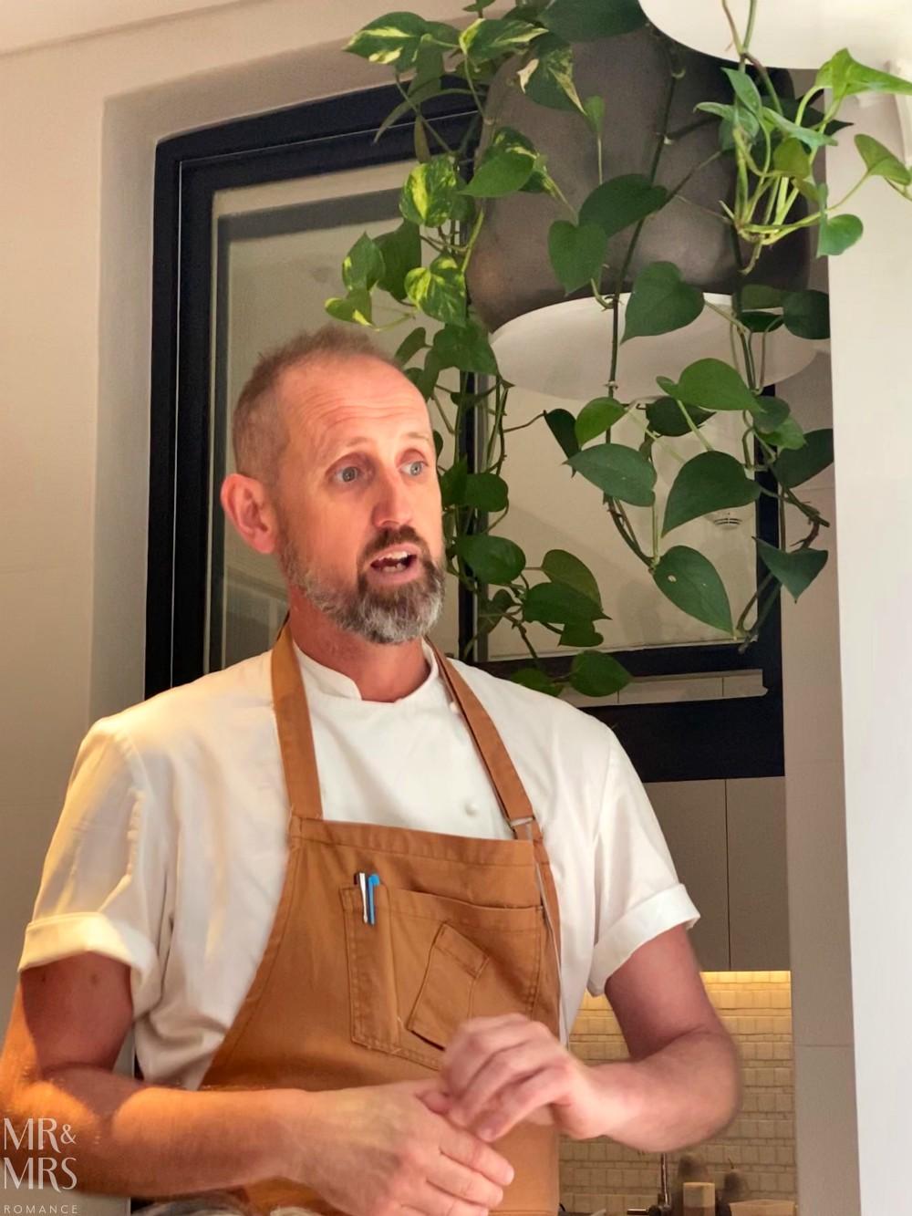 Chef Cameron Matthews