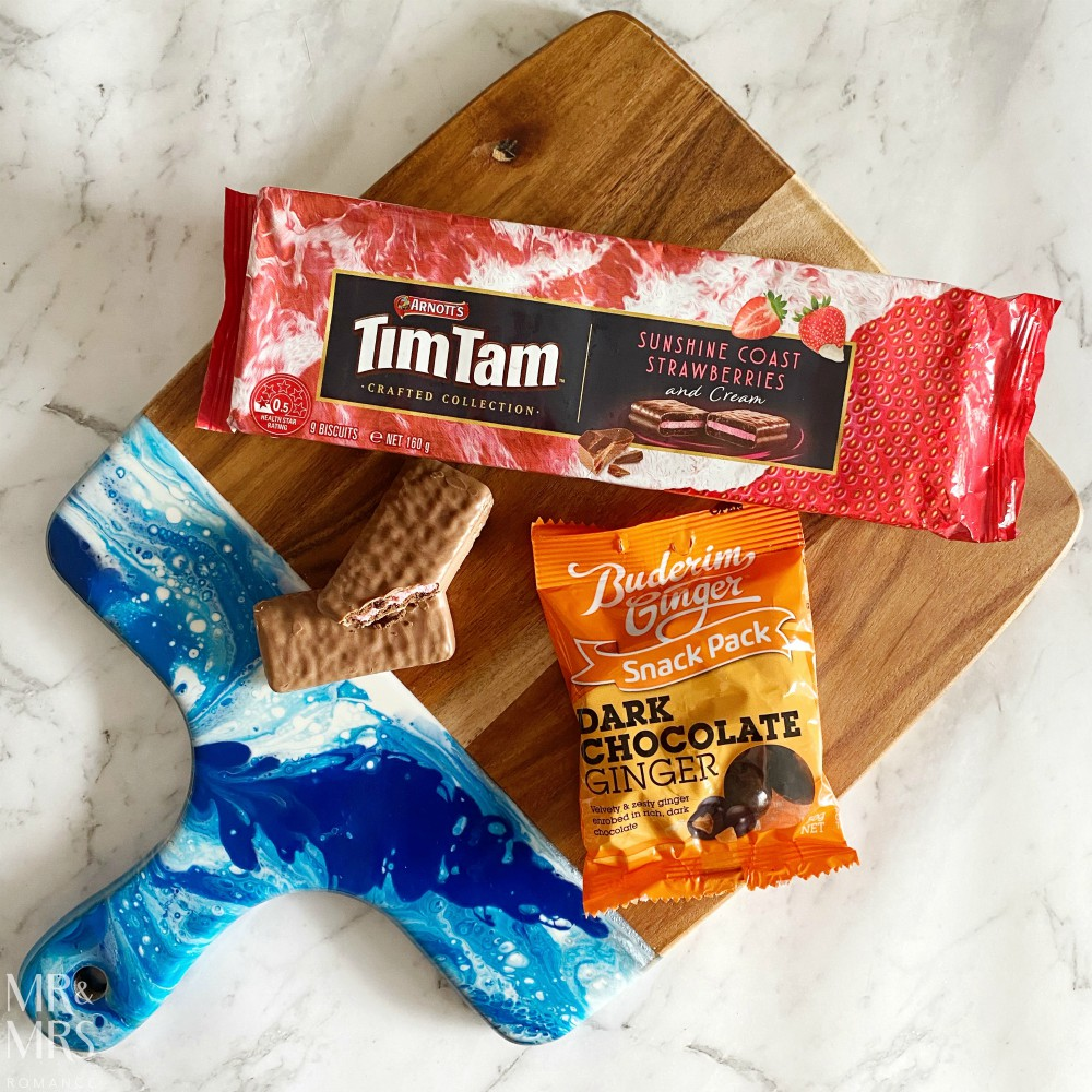 Tim Tams Sunshine Coast strawberry flavour