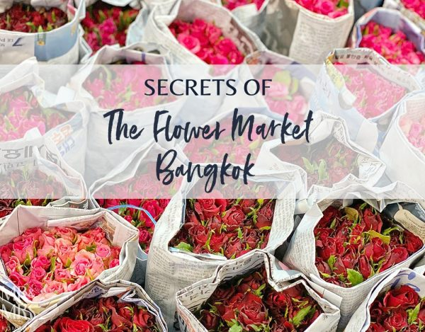 Bangkok Flower Market - Market Experience cooking lesson