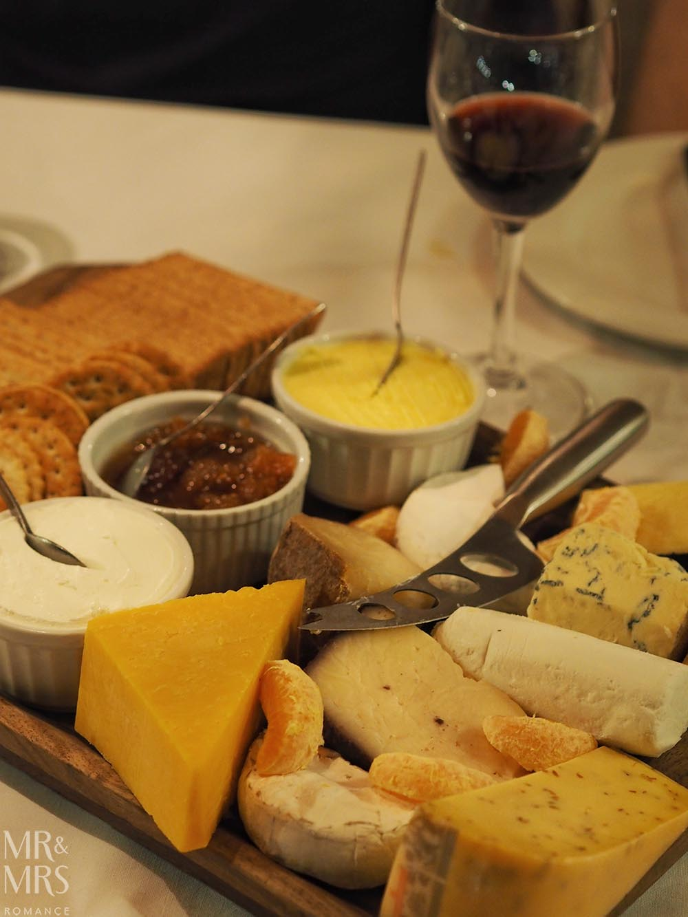 Fugitives' Drift Lodge - cheeseboard