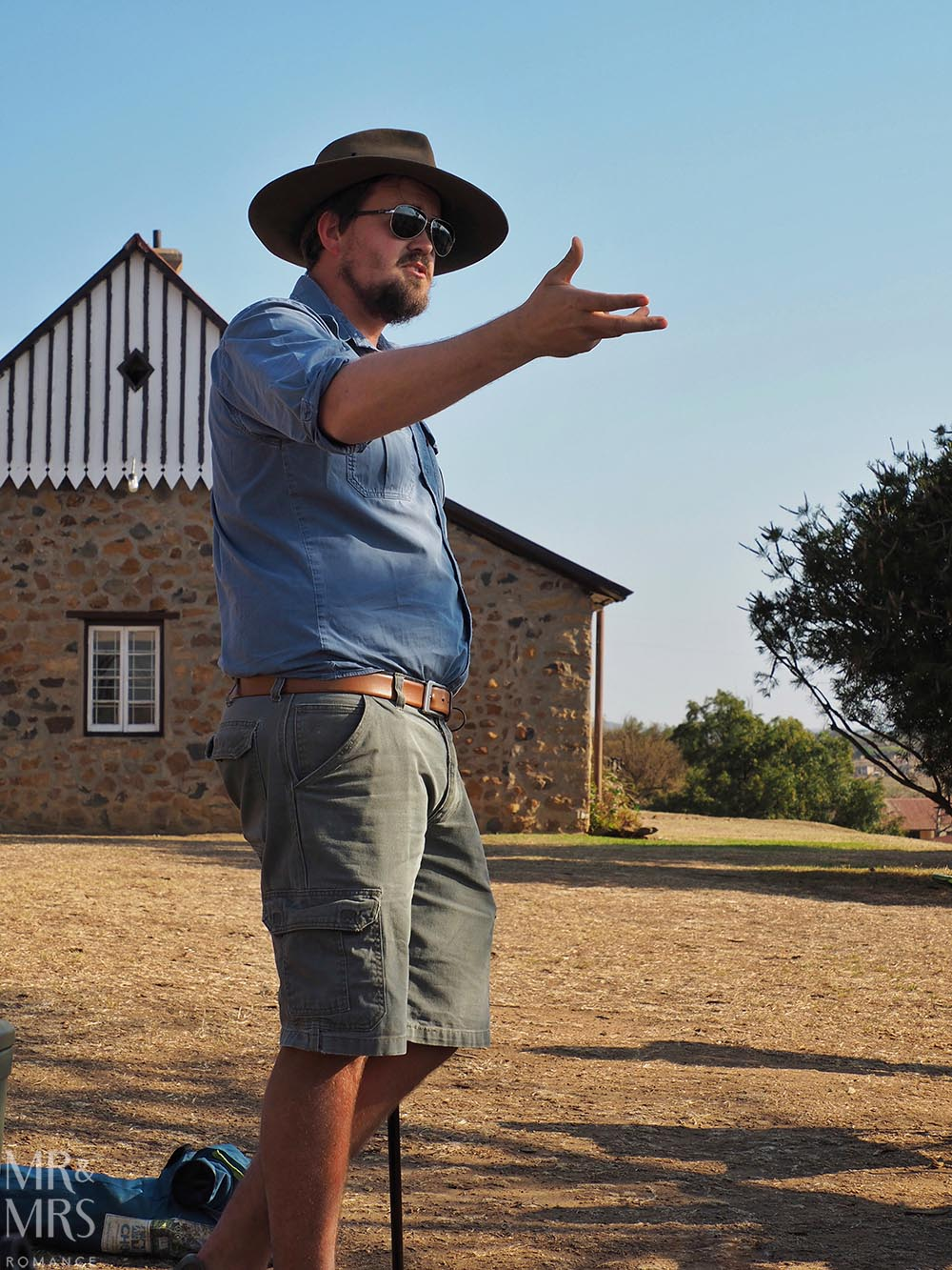 Fugitives' Drift Lodge - Douglas Rattray at Rorke's Drift