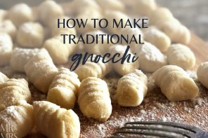 How to make gnocchi – Christina's family recipe