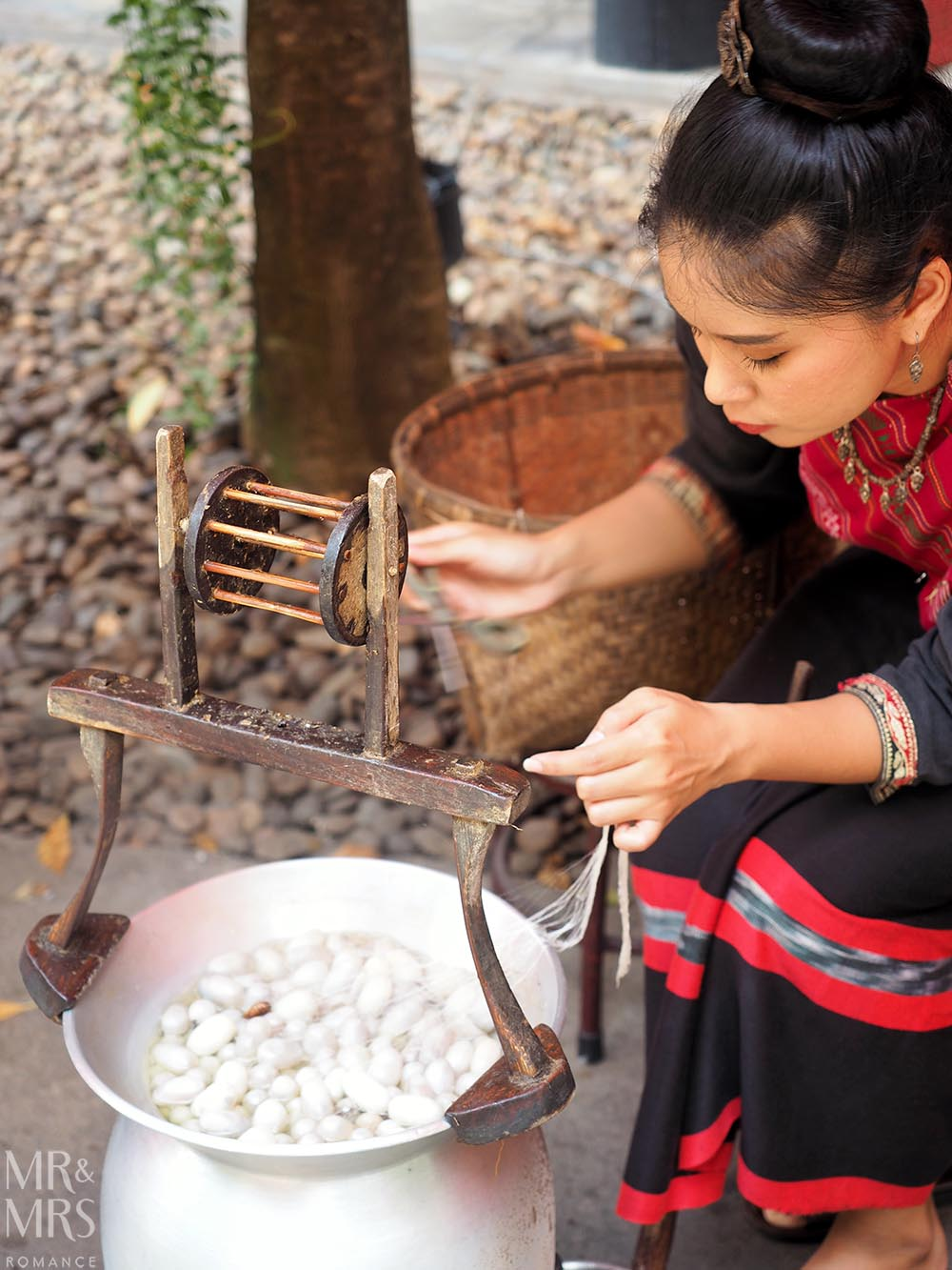 Jim Thompson House silk cocoon - Thailand