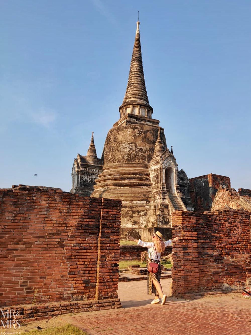Ayutthaya temple, Thailand