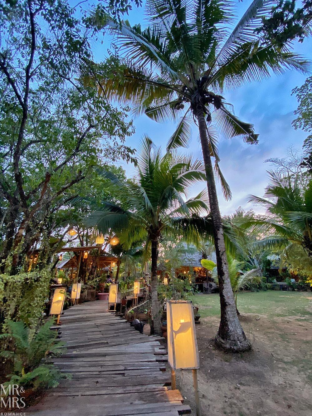 Ruenmai restaurant, Krabi, Thailand