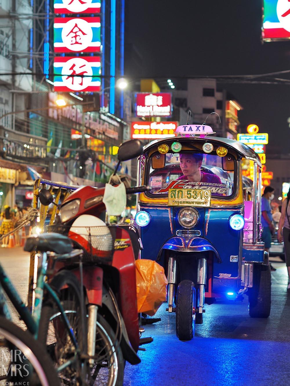 Bangkok tuktuk Chinatown
