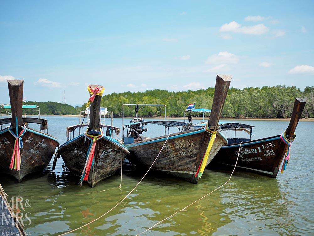 Ko Klang, Krabi cultural experience, longtail boats Thailand