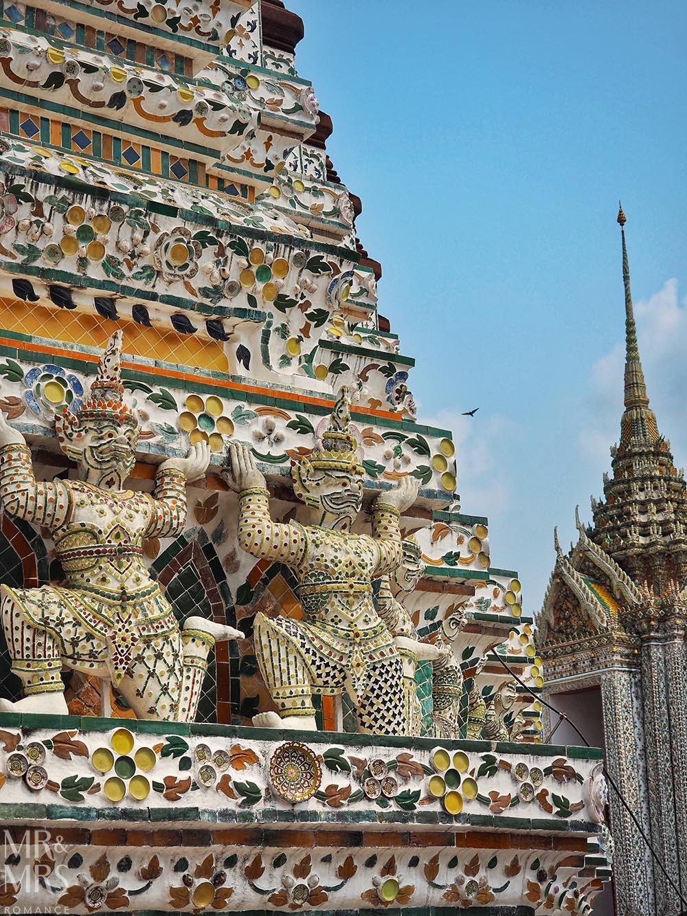 Coronavirus Thailand - Wat Arun, Bangkok
