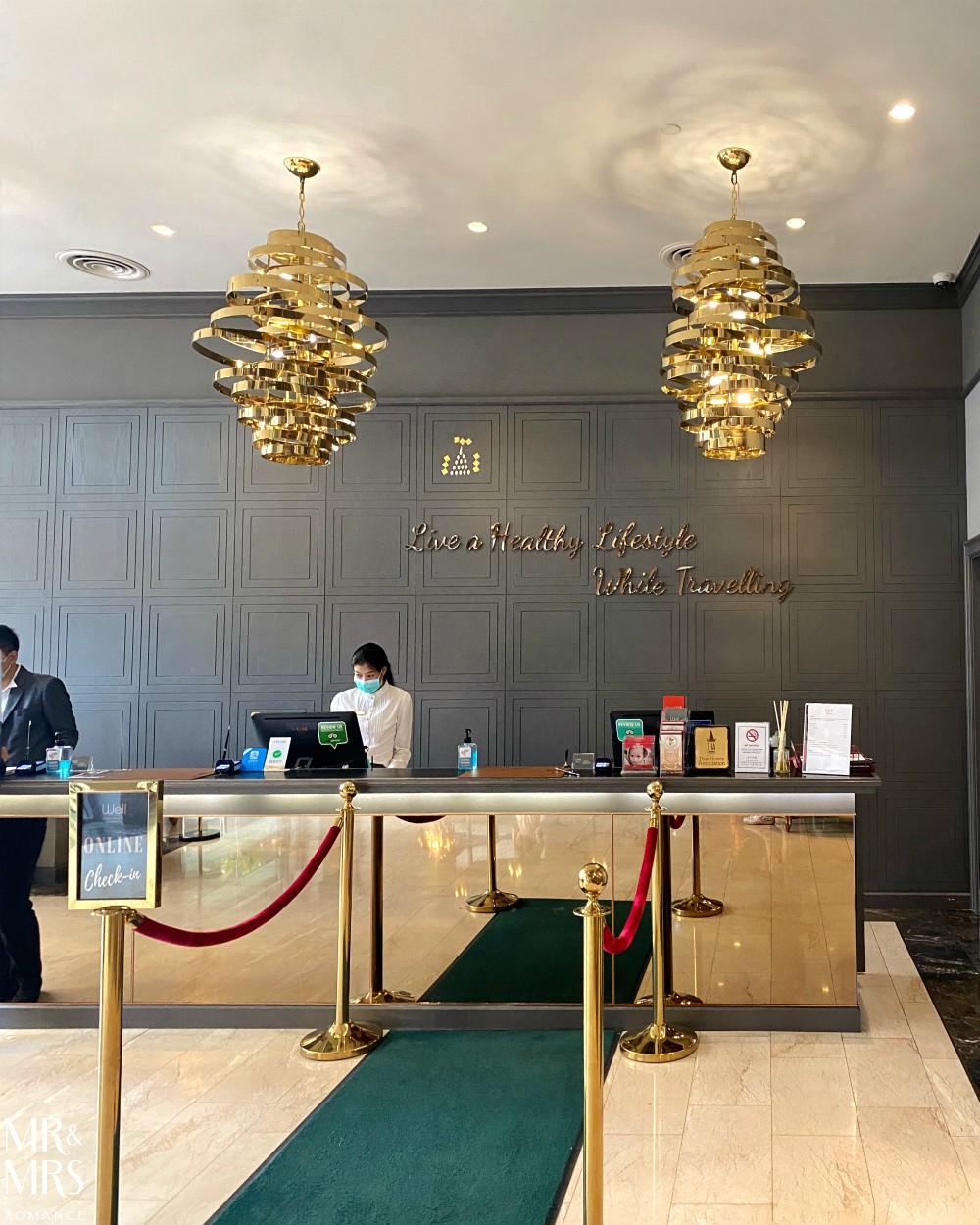 Well Hotel Bangkok, Sukhumvit Soi 20 - reception