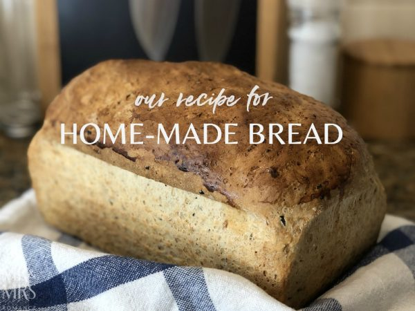 Home-made bread recipe