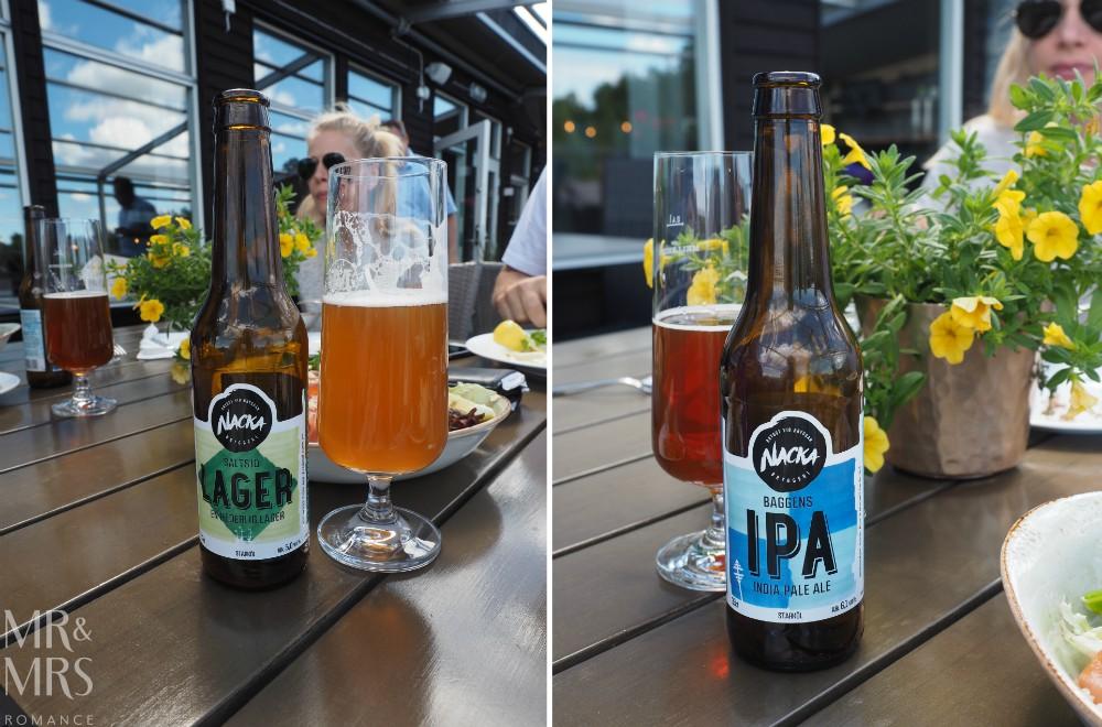 Swedish food - Nacka beer